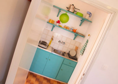 Family apartment with fully equipped kitchenette