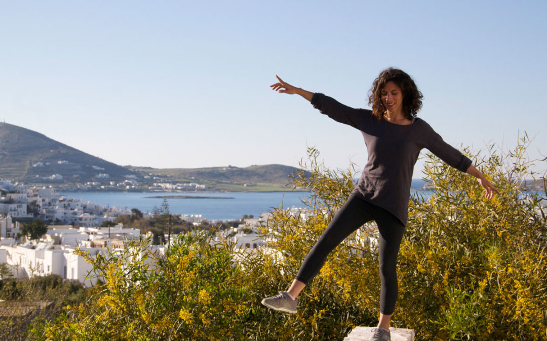 Keren, the pilates instructor