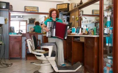 Marina, the barber