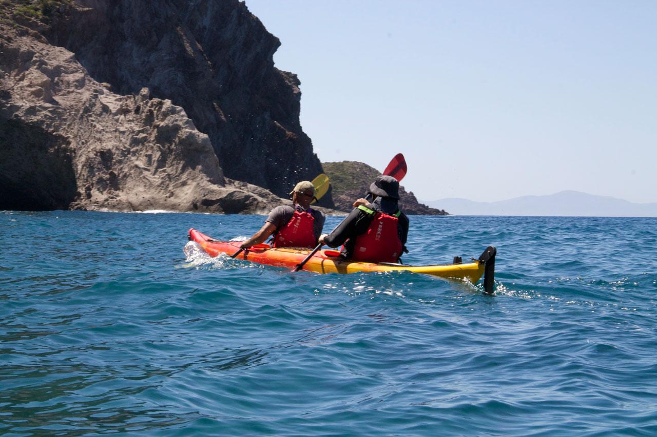 In the waters or Antiparos