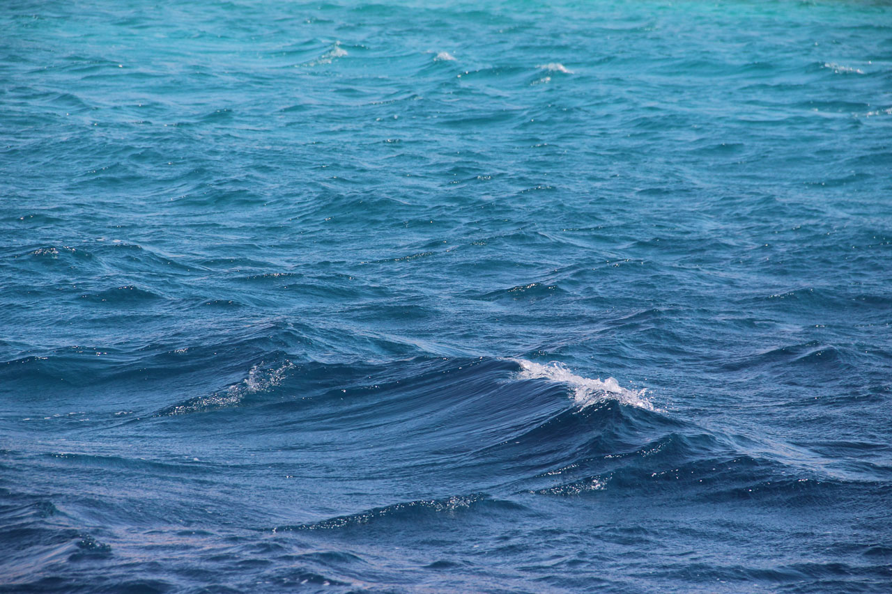 the colours of the sea