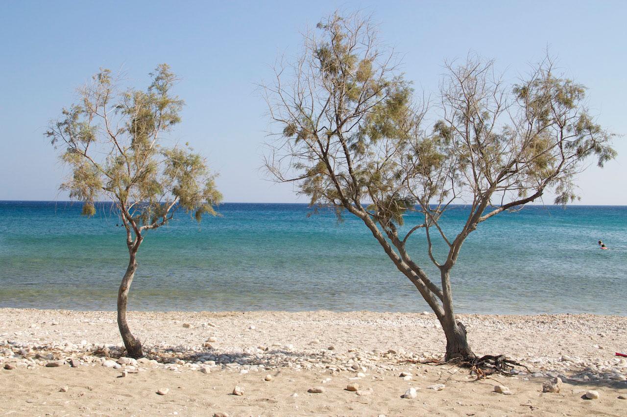The beach at Glyfa