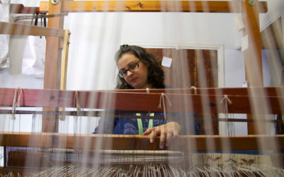 Christina, the weaver