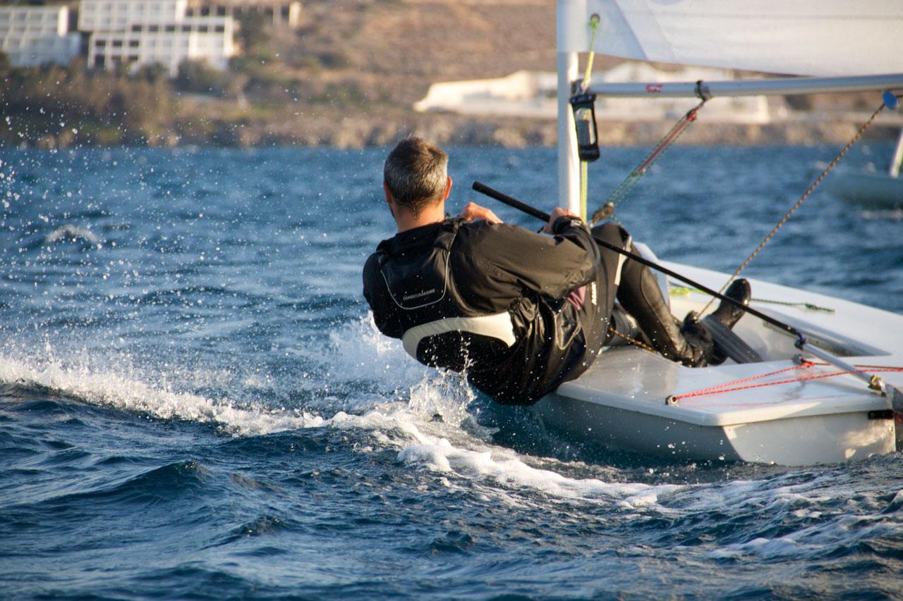 Sailing Naoussa
