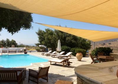 Summer sun swimming pool refresh